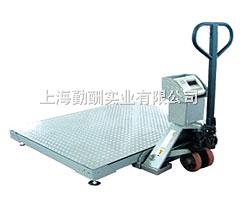 2吨不锈钢电子工业移动电子地磅