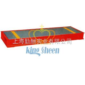 上海勤酬便携式称重板直销 电子汽车衡价格
