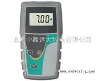 便携式PH计/耐高温PH计/探头式酸度计 型号:MWPH6+7352101B