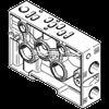 -进口FESTO气路板底座,NAVW-1/4-1-ISO